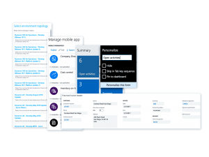 grow with an innovative and adaptable platform in Dynamics 365 for finance and operations