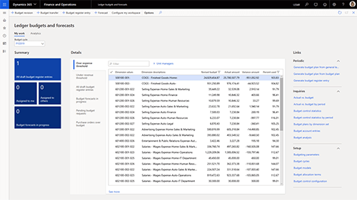 reduce operationall expenses with Dynamics 365 Finance