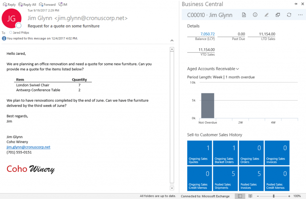 Dynamics 365 business central boost sales and improve service