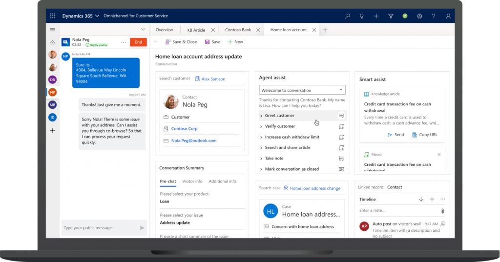 dynamics 3365 Customer service